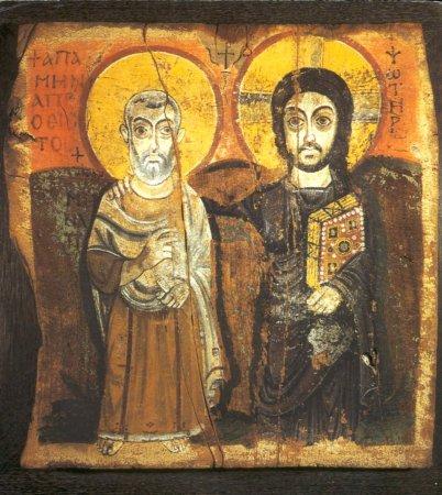 christ-and-saint-mena
